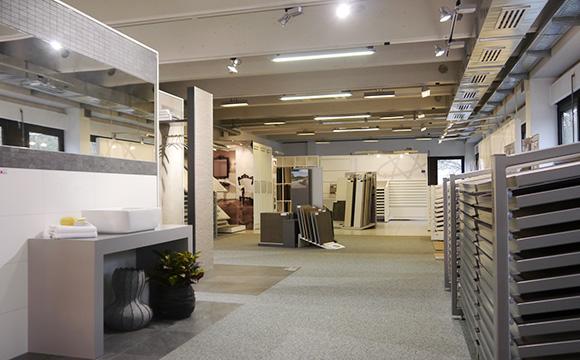 Die Fliesenausstellung im Bayerischen Fliesenhandel
