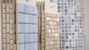 Verschiedene Farben und Größen bei Mosaiken