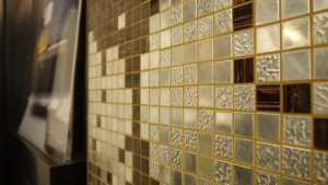 Mosaik mit Struktur, Muster oder glatt
