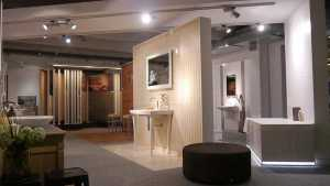 Zahlreiche Ideen für Badezimmer mit Keramik in unserer Fliesenausstellung.