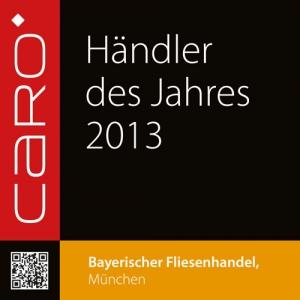 Der Bayerische Fliesenhandel ist Händler des Jahres