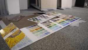 Eine große Farbpalette bei Mosaiken im Bayerischen Fliesenhandel.