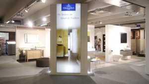 Keramikfliesen von Villeroy & Boch in unserer Fliesenausstellung in München.
