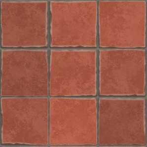 Terracotta-Fliesen für den Fußboden